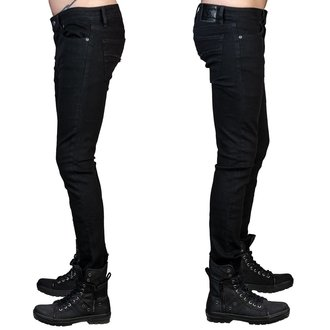nohavice pánske (jeans) WORNSTAR - Rampager - Black, WORNSTAR