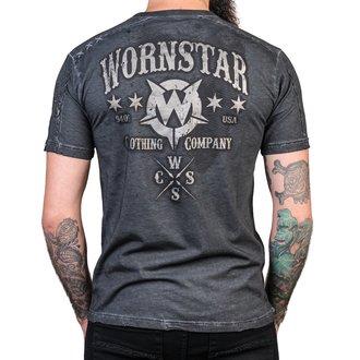 tričko pánske WORNSTAR - Chop Shop - Gray, WORNSTAR