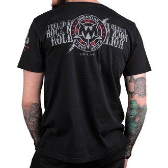 tričko pánske WORNSTAR - Electric - Black, WORNSTAR