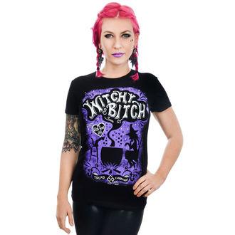 tričko dámske TOO FAST - BABYDOLL - witch BITCH HALLOWEEN
