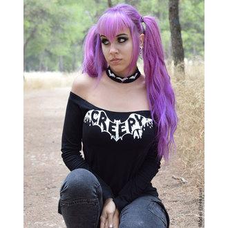 tričko dámske s dlhým rukávom TOO FAST - TABITHA CHOKER - Creep AF BAT