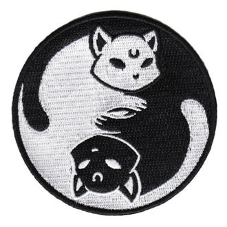 nažehlovačka (nášivka) KILLSTAR - Yin Yang - BLACK, KILLSTAR