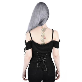 tričko dámske KILLSTAR - Ylva Bardot - BLACK, KILLSTAR
