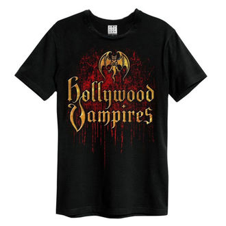 tričko pánske Hollywood Vampires - Bat Blood Logo - AMPLIFIED, AMPLIFIED, Hollywood Vampires