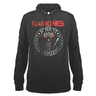 mikina pánska RAMONES - AMPLIFIED, AMPLIFIED, Ramones