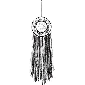 lapač snov (dekorácia) KILLSTAR - ZETA - BLACK, KILLSTAR