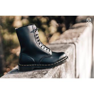 topánky Dr. Martens - 10 dierkové - 1490 Vegan Black, felix Rub Off, Dr. Martens