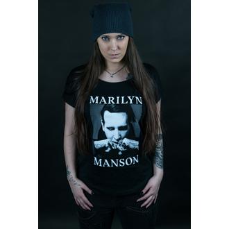 tričko dámske Marilyn Manson - Fists - ROCK OFF, ROCK OFF, Marilyn Manson