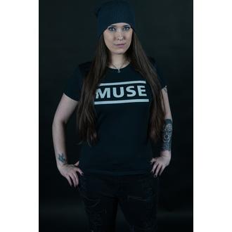 tričko dámske Muse - Logo - Black, NNM, Muse