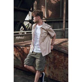 kraťasy pánske BRANDIT - Vintage Shorts Oliv