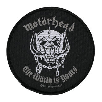 nášivka MOTORHEAD - THE WORLD IS YOURS - RAZAMATAZ, RAZAMATAZ, Motörhead
