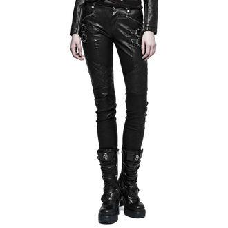 nohavice dámske PUNK RAVE - K-297 Mantrap leather, PUNK RAVE