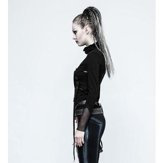 tričko dámske s dlhým rukávom PUNK RAVE - Brute - black, PUNK RAVE