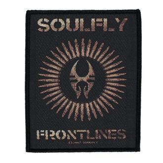 nášivka SOULFLY - FRONTLINES - RAZAMATAZ, RAZAMATAZ, Soulfly