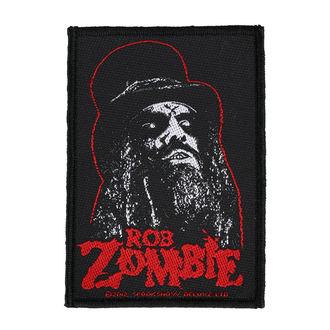 nášivka ROB ZOMBIE - PORTRAIT - RAZAMATAZ, RAZAMATAZ, Rob Zombie