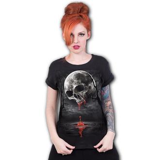 tričko dámske SPIRAL - DEATH MOON - Black - D086F744