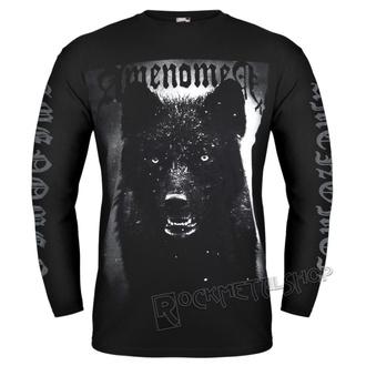 tričko pánske s dlhým rukávom AMENOMEN - BLACK WOLF, AMENOMEN
