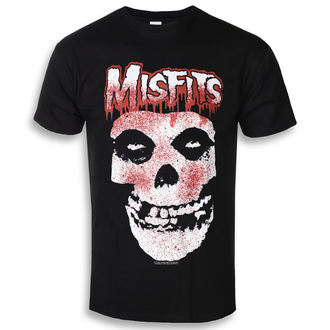 tričko pánske The Misfits - Blood Drip Skull - ROCK OFF, ROCK OFF, Misfits
