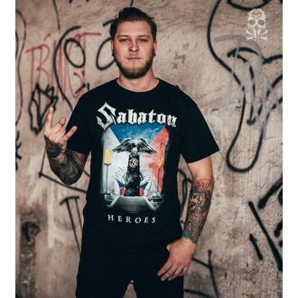 tričko pánske Sabaton - Heroes Czech Republic - K_675