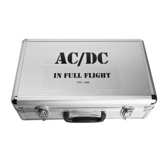 zberateľská kniha AC/DC - IN FULL FLIGHT, NNM, AC-DC