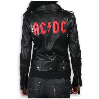 bunda dámska (křivák) AC/DC - LNTC Black, NNM, AC-DC