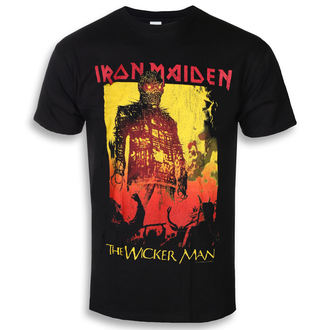 tričko pánske Iron Maiden - The Wicker Man Fire - ROCK OFF, ROCK OFF, Iron Maiden