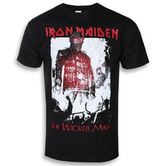 tričko pánske Iron Maiden - The Wicker Man Smoke - ROCK OFF, ROCK OFF, Iron Maiden