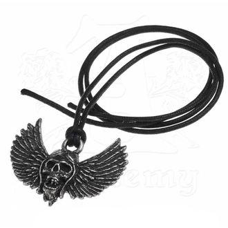 obojok Airbourne - Skull / Wings - ALCHEMY GOTHIC, ALCHEMY GOTHIC, Airbourne