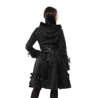 kabát dámsky POIZEN INDUSTRIES - ALICE - BLACK ROSE, POIZEN INDUSTRIES
