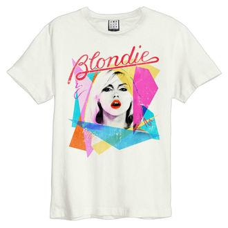 tričko pánske BLONDIE - AHOY 80`S - VINTAGE WHITE - AMPLIFIED, AMPLIFIED, Blondie