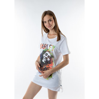 tričko (unisex) AMPLIFIED - BOB MARLEY - WHT, AMPLIFIED, Bob Marley