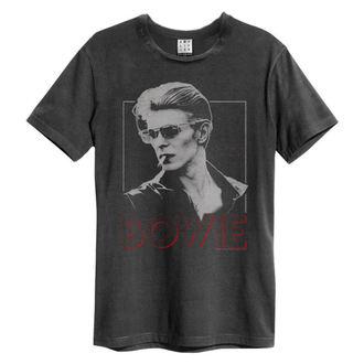 tričko pánske DAVID BOWIE - 80S ERA - Charcoal - AMPLIFIED, AMPLIFIED, David Bowie