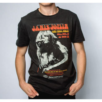 tričko pánske JANIS JOPLIN - MADISON SQUARE GARDENS - Charcoal - AMPLIFIED, AMPLIFIED, Janis Joplin