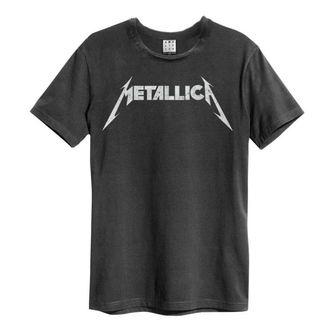 tričko pánske METALLICA - LOGO - AMPLIFIED, AMPLIFIED, Metallica