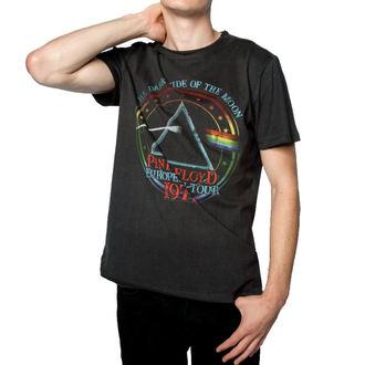 tričko pánske PINK FLOYD - 1972 TOUR - Charcoal - AMPLIFIED, AMPLIFIED, Pink Floyd