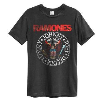 tričko pánske Ramones - Vintage Sael - AMPLIFIED, AMPLIFIED, Ramones