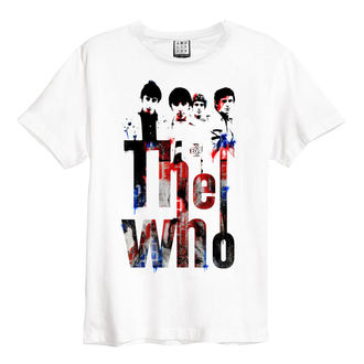 tričko pánske THE WHO - WHT - AMPLIFIED, AMPLIFIED, Who
