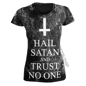 tričko dámske AMENOMEN - HAIL SATAN AND TRUST NO ONE, AMENOMEN
