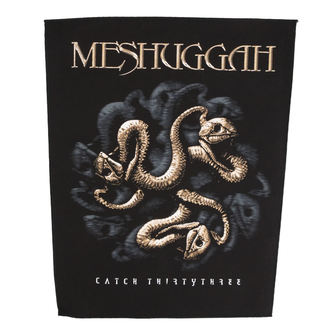 nášivka veľká MESHUGGAH - CATCH 33 - RAZAMATAZ, RAZAMATAZ, Meshuggah