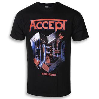 tričko pánske ACCEPT - METAL HEART 1 - PLASTIC HEAD, PLASTIC HEAD, Accept