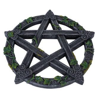 dekorácia Wiccan Pentagram Wall Plaque, NNM