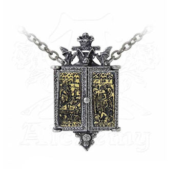 obojok ALCHEMY GOTHIC - Balkan Triptych Icon Locket