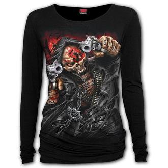 tričko dámske s dlhým rukávom SPIRAL - Five Finger Death Punch - ASSASSIN, SPIRAL, Five Finger Death Punch