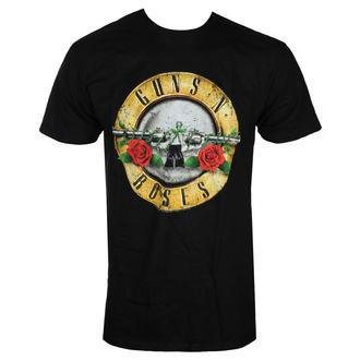 tričko pánske Guns N' Roses - DISTRESSED BULLET - BRAVADO, BRAVADO, Guns N' Roses