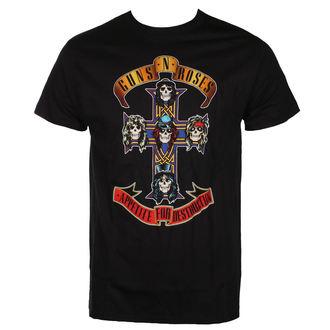 tričko pánske Guns N' Roses - CROSS - BRAVADO USA, BRAVADO, Guns N' Roses