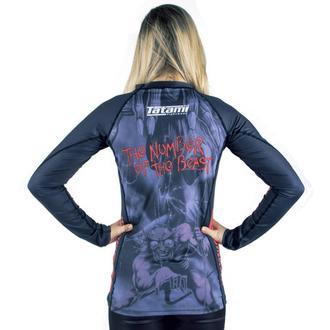 tričko detské s dlhým rukávom (technickej) TATAMI - Iron Maiden - Number of the Beast - Rash Guard, TATAMI, Iron Maiden