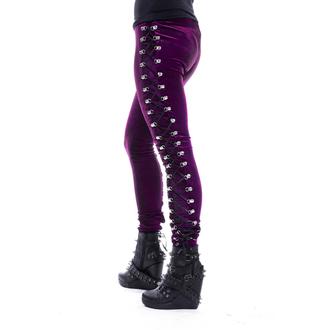 nohavice dámske (legíny) CHEMICAL BLACK - BEETLE - Purple, CHEMICAL BLACK