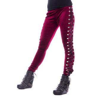 nohavice dámske (legíny) CHEMICAL BLACK - BEETLE - RED, CHEMICAL BLACK
