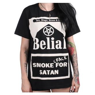 tričko (unisex) BELIAL - Smoke Crack for Satan, BELIAL