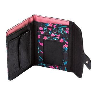 peňaženka MEATFLY - NEEDLE - A - 2/26/55 - Kala Flowers Black, MEATFLY
